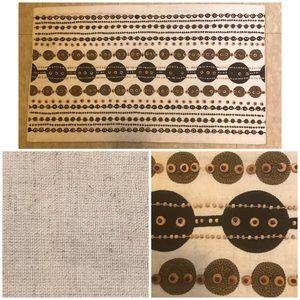 Wooden Beads Circle Pillowcase